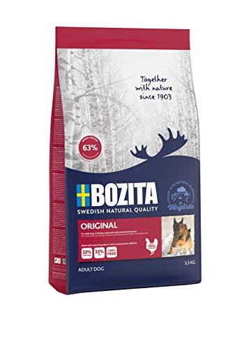 BOZITA Original Hundefutter - 3.5 kg - nachhaltig produziertes Trockenfutter für erwachsene Hunde - Alleinfuttermittel