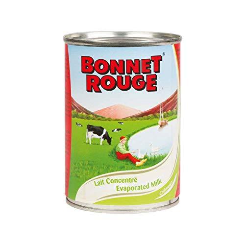 Lait concentré BONNET ROUGE non sucré 410 g - (Lot de 2)