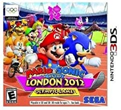 Mario & Sonic at the London 2012 Olympic Games (Nintendo 3DS) - Rated E (Renewed)