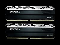 G.Skill DDR4メモリ DDR4-3600 16GBKit(8GB×2枚組)国内正規品 OVERCLOCK WORKS購入限定特典ステッカー付き F4-3600C19D-16GSXWB
