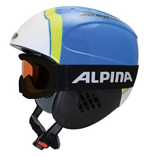 ALPINA Carat Kinderskihelmset - 48