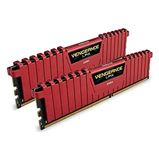 Corsair Vengeance LPX 16GB (2x8GB) DDR4 2133MHz C13 Desktop Gaming Memory Red (B0123ZCAKW)   Amazon price tracker / tracking, Amazon price history charts, Amazon price watches, Amazon price drop alerts