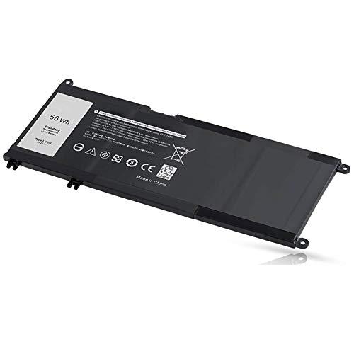YXXM 33YDH - Batería para ordenador portátil Dell 17 7000 7773 7778 7779 (sustituye a Latitude 13 3380 14 3490 15 3580 3590 G3 15 3579 17 3779 G5 15 5587 G7 15 7588)