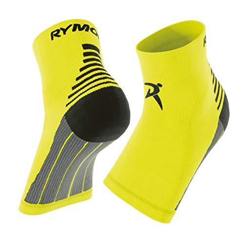 Rymora Plantar Fasciitis Socks for Circulation - Fluorescent, Medium - Ankle Compression Sleeve for Men & Women - Neuropathy, Arch Support, Foot Pain Nano Socks