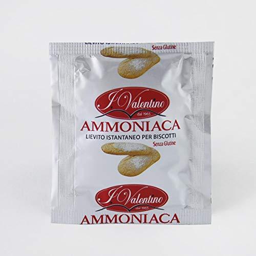Ammoniaca alimentare per dolci - 10 bustine da 20 gr - Lievito istantaneo per biscotti - SENZA GLUTINE