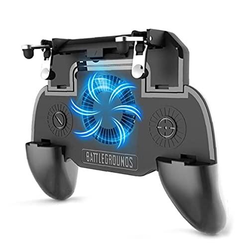 Froiny para Regulador De Gamepad Ventilador Suplementario Gatillo Shooter para Teléfono Joystick Titular del Ventilador del Refrigerador con 2000 Mah De Potencia