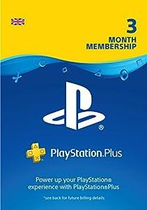 PlayStation Plus: 3 Month Membership | PS4 | PSN Download Code - UK account