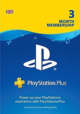 PlayStation Plus: 3 Month Membership | PS4 | PSN Download Code - UK account