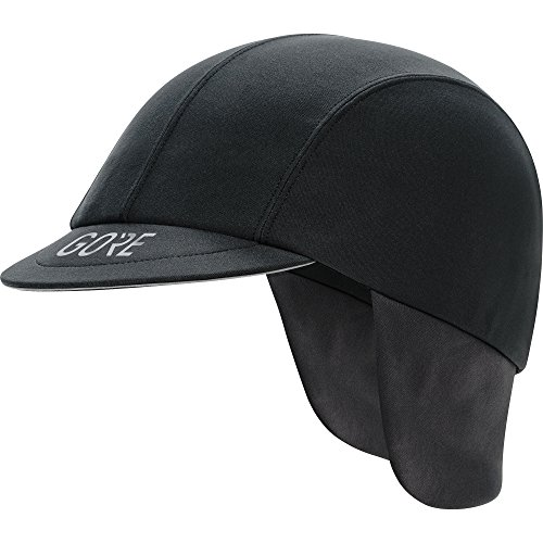 GORE Wear Cappellino antivento da ciclismo, C5 WINDSTOPPER Road Cap, Taglia unica, Colore: Nero, 100390