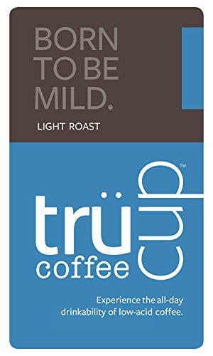 trücup Low Acid Coffee, Drip Grind, Born to Be Mild Light Roast, 1 Pound