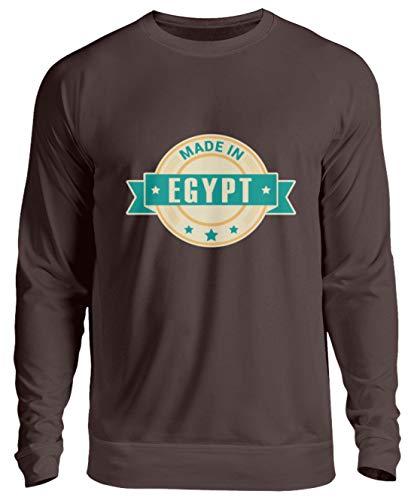 Schuhboutique Doris Finke UG (haftungsbeschränkt) Made in Ägypten - Unisex Pullover -S-Schokolade