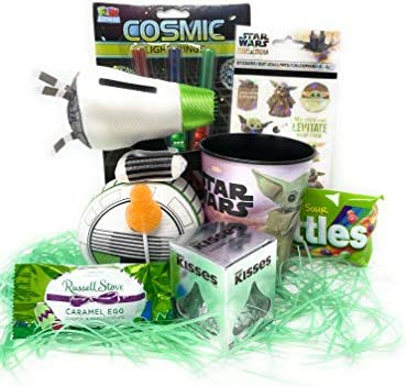 Jumbo Egg Star Wars Easter Basket for Girls or Boys Stuffed with Fun for Children or Tweens product image