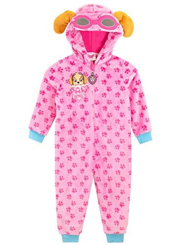 La Patrulla Canina Pijama Entera para niñas Skye Rosa 2-3 Años
