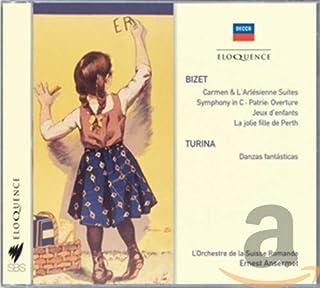 Bizet: Symphony in C, Jeux d'Enfants, suites from Carmen, L'Arlesienne, Jolie Fille de Perth