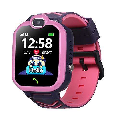 Kinder-Smartwatch, Kinderuhr, integrierte 8 Puzzle-Spiele, Telefonuhr mit HD-Kamera, unterstützt Anrufe, Fotografieren