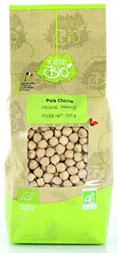 Pois Chiche secs BIO Origine France - sachet de 500g
