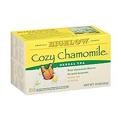 Bigelow, Cozy Chamomile Tea (Caffeine Free), 20 Count