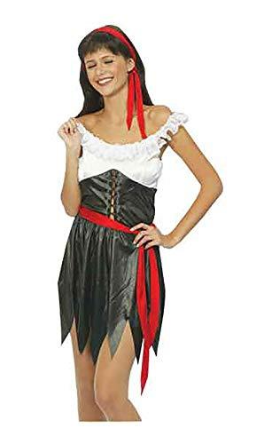 Hi Fashionz Damen Kostüm Piratenmädchen, Buchwoche, Junggesellinnenabschied, Kostüm, Party-Kostüm Gr. Einheitsgröße, Sexy Piratenmädchen