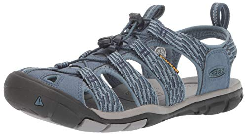 KEEN Women's Clearwater CNX Water Shoe, Blue Mirage/Citadel, 5 M US