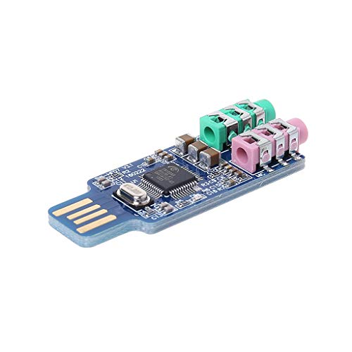 Yintiod CM108 USB-station gratis geluidskaart laptop computer externe geluidskaartmodule