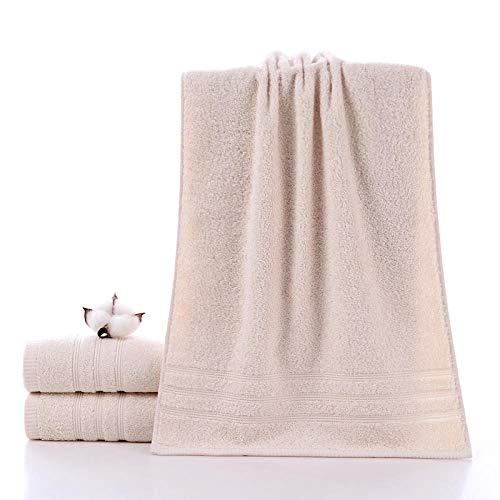 Hoogwaardige natuurlijke handdoek, super absorberend, zacht groot lusje badstof 4-delige set