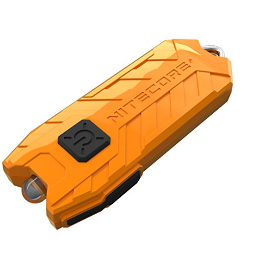 Nitecore Tube Keychain Light T Series 45 Lumen Multi Color Pocket Flashlight (Orange)