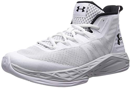 Under Armour Men's Jet Mid Basketball Shoe, Red...