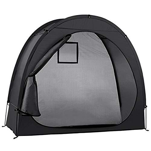 YUTRD ZCJUX Bike Tent Bike Storage Shed 190T Almacenamiento de Bicicletas cobertizo con diseño de Ventana para la Herramienta de Camping al Aire Libre para Tiendas de campaña de Bicicleta