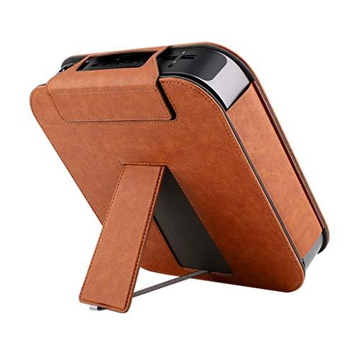 YOKING - Funda de protección para ordenador central Apple-Mac-Mini, fundas de piel sintética, bolsa de soporte de marco antigolpes