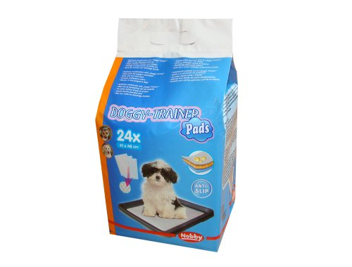 Nobby Doggy Trainer Pads 24 St., S - 48 x 41 cm