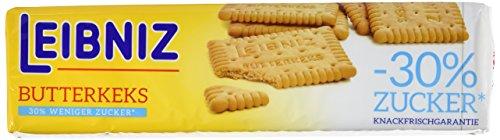 Leibniz Butter- Keks 30% weniger Zucker, 15er Pack (15 x 150 g Packung)