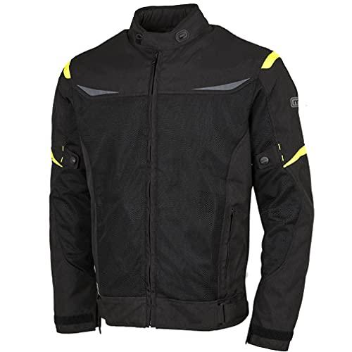 BSTAR Chaqueta Moto de Verano Lem AIR Negro Fluo para Hombre (52, l)