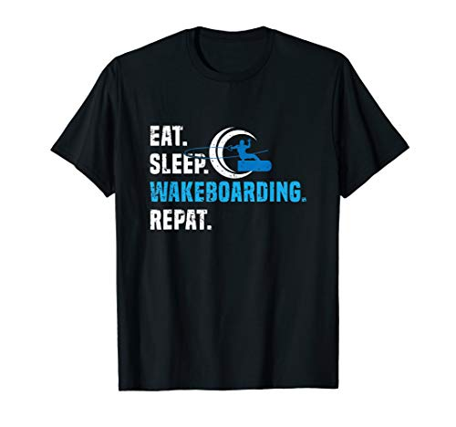 Wakeboarding Spruch | Wakeboard Geschenk Wakeboarder T-Shirt