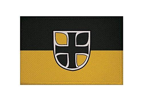 U24 Aufnäher Altmarkkreis Salzwedel Fahne Flagge Aufbügler Patch 9 x 6 cm