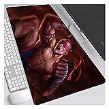 CTRQA Übergröße Mauspad | XXXL Mousepad groß mit Motiv | Professionelle Gaming Mouse pad, Computer - Tisch – Pad, Schreibtisch – Pad Jungen-D