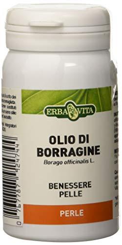 ERBA VITA Integratore Alimentare di Olio di Borragine - 45 Perle