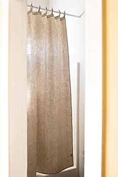 Organic Hemp Shower Curtain Full Size  73.5 x72   - Natural