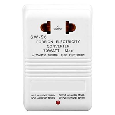 Voltage Converter Adapter 70W, 110V to 220V