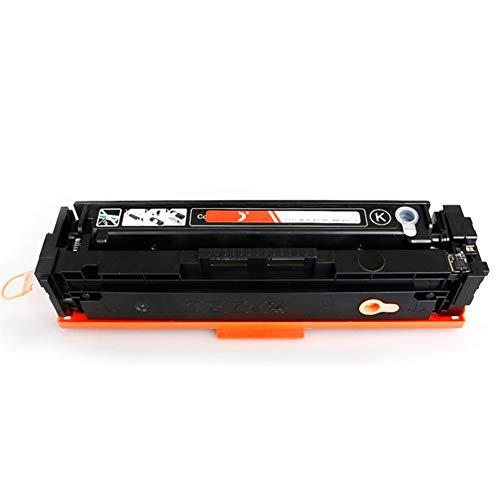 CF400A 401A 402A 403A compatibele vervangende tonercartridge voor HP LasreJet pro M252 277n 277dw serie printer, Het effect is vergelijkbaar met het origineel size Zwart