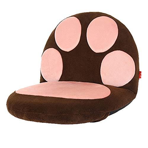JOMSK Comfortable Padded Lazy Sofa Furniture Accessories Children Cartoon Cute Cat Claw Pad Lazy Sofa Tatami Cushion Balcony Computer Bed Waist Chair Comfortable Cute Chair