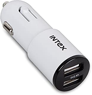 INTEX DUAL PORT CAR CHARGER