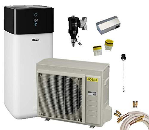 Rotex Luft-Wasser-Wärmepumpen Set HPSU compact Ultra 508 Biv 8 kW