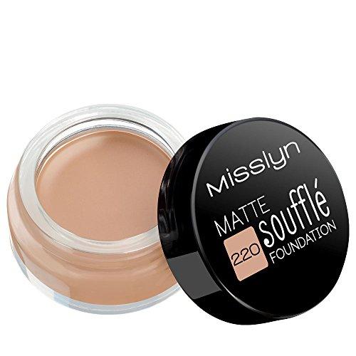 Misslyn Soufflé Foundation Nr.220 matte sweet marzipan, 15 ml
