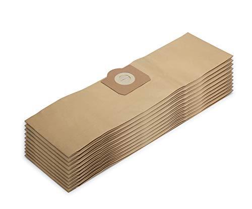 Supremery 10x bolsas de aspiradora para bolsas de filtro de aspiradora Kärcher WD 3 reemplaza las bolsas de papel Kärcher 6.959-130.0 (WD 3, WD 3 P y WD 3 Premium)