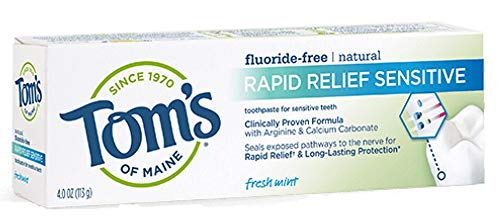 Sensitive Toothpaste Samples
