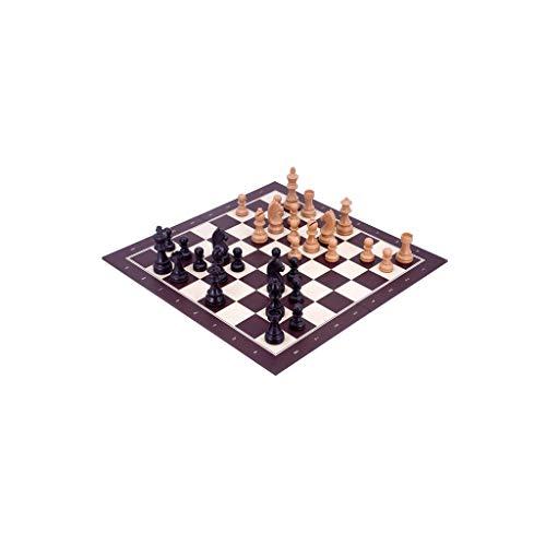 Ajedrez Ajedrez para Torneo Juego de Familia Plegable portátil para Chess Torneo Puzzle Juego de ajedrez