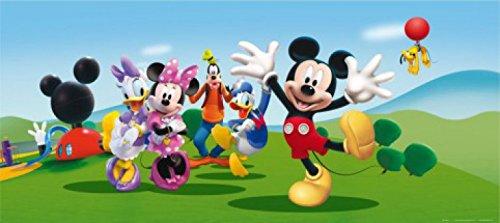 1art1 Micky Maus - Minni Maus, Daisy Duck Und Freunde Fototapete Poster-Tapete 202 x 90 cm
