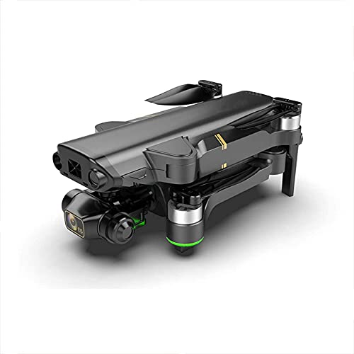 JJDSN El Mejor dron de 8k HD para Adultos, 3 Ejes, cardán, cámara Dual, Drones, fotografía aérea Profesional con 5G WiFi, GPS, 1,2 km, Distancia de Control Remoto, cuadricóptero RC, 4 baterías