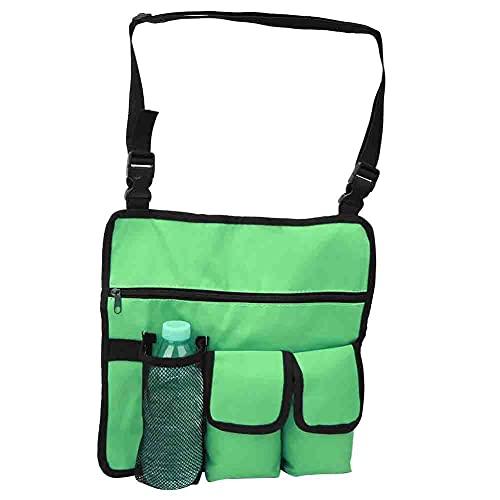 Okuyonic Silla de Playa Handy Pocket 600D Tela Oxford para Tumbona(Green)