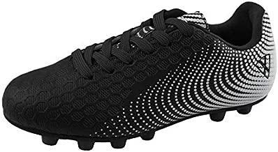 Vizari unisex-kid's Stealth FG Black/White size 8 Soccer Shoe, 8 M US Little Kid